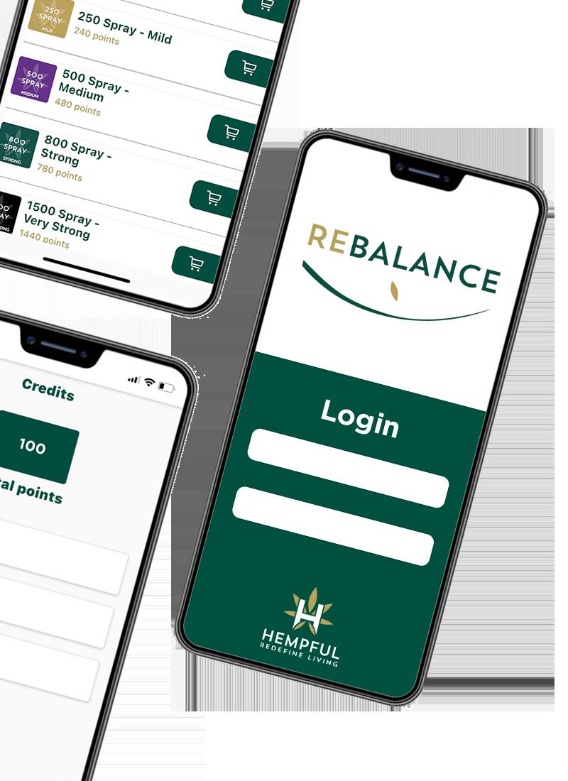 Rebalance Pro App Popup Graphic